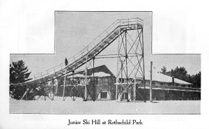 Copy of Junior Ski Jump at Rothschild Park 1931 pic